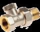 """Клапан запорно-регулирующий (обратного потока) прямой PRADEX 1/2""""x1/2"""""""