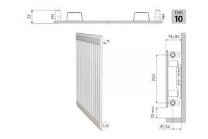Радиатор PRADO Universal 10x300x1600