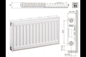 Радиатор PRADO Universal 11x300x2000