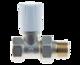 """Ручной регулирующий клапан прямой PRADEX 1/2""""x1/2"""""""