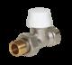 """Термостатический клапан с преднастройкой прямой PRADEX 1/2""""x1/2"""""""